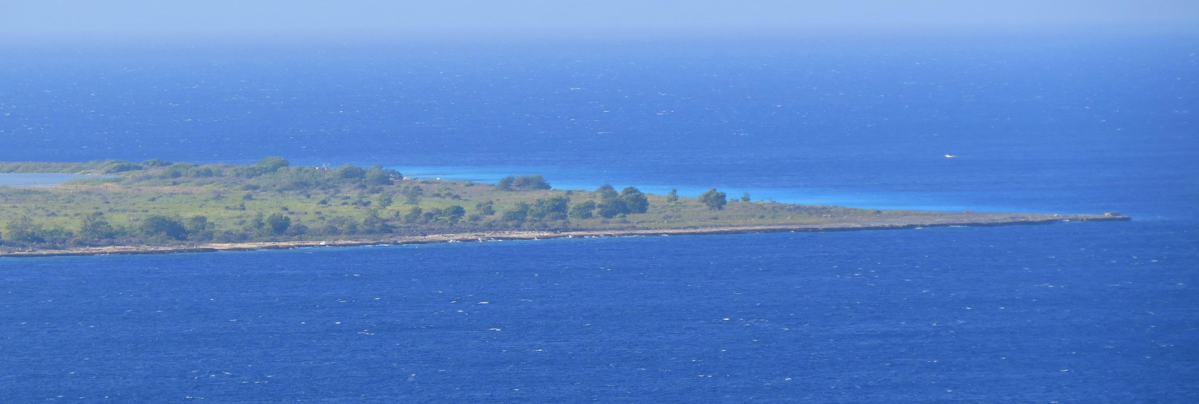 Amazing views of the turquoise water around Klein Bonaire